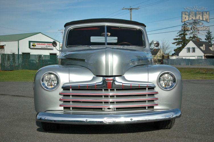 1946 Ford Deluxe Convertible Hotrod Streetrod Hot Rod Street USA 1500x1000-15 wallpaper