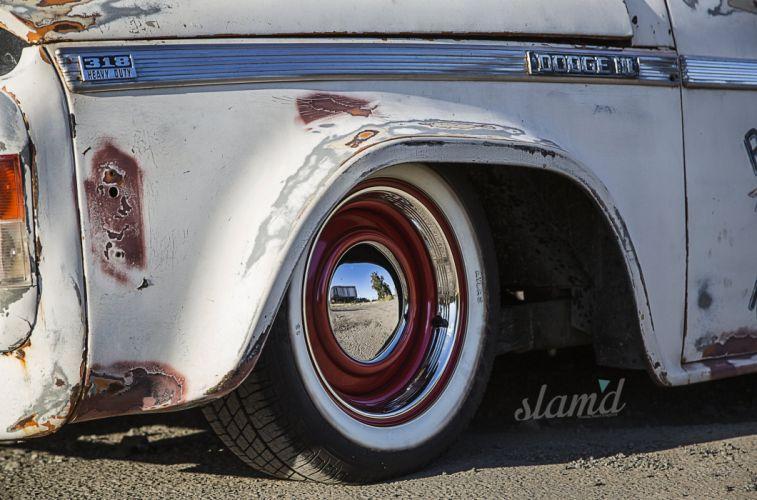 1974 Dodge D5N 600 pickup lowrider tuning custom classic d wallpaper