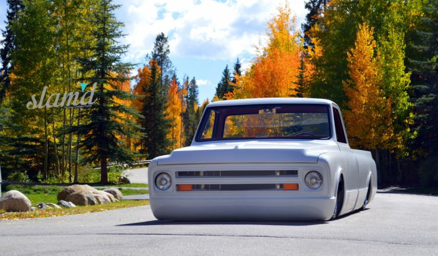 1967 Chevrolet C10 pickup lowrider custom tuning classic d wallpaper