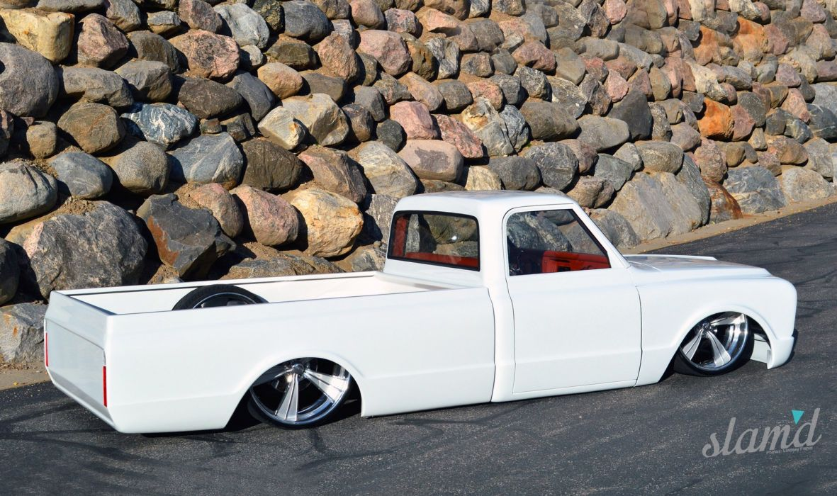 1967 Chevrolet C10 pickup lowrider custom tuning classic d wallpaper