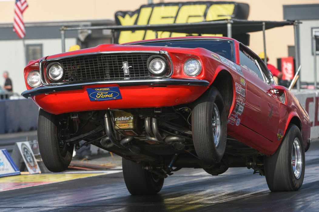 NHRA drag racing hot rod rods muscle race ford mustang wheelie f wallpaper