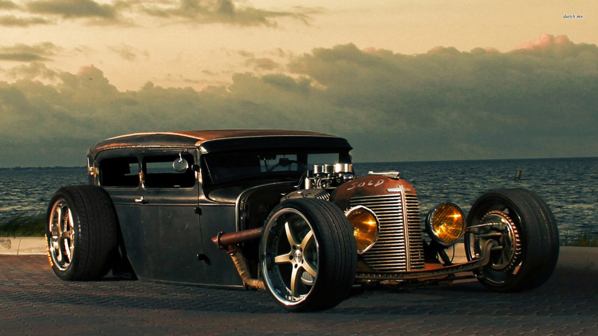 Ford Model T Custom Hot Rod Rods Retro D Wallpaper