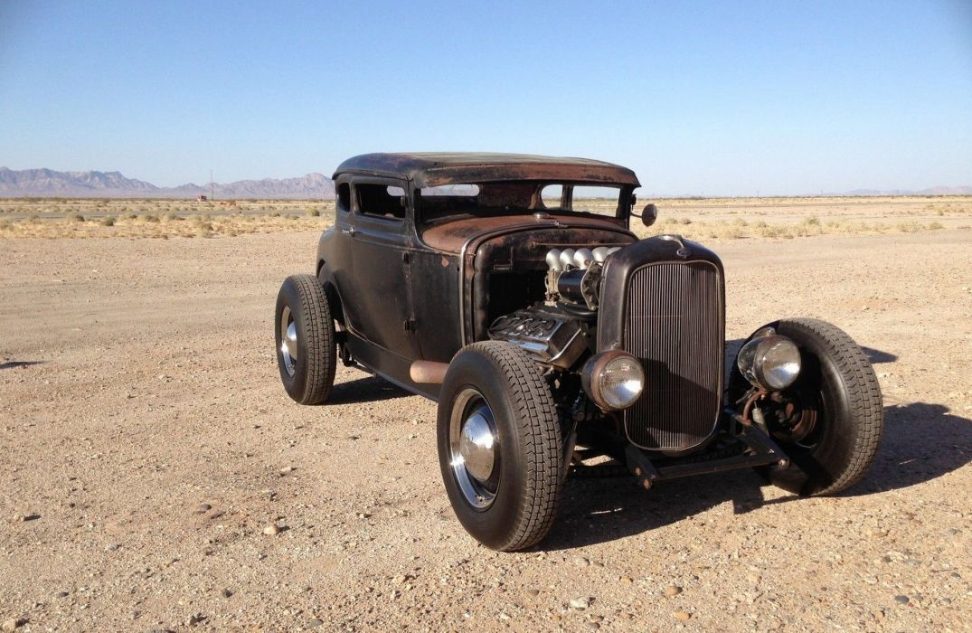 FORD MODEL-A custom hot rod rods retro d wallpaper