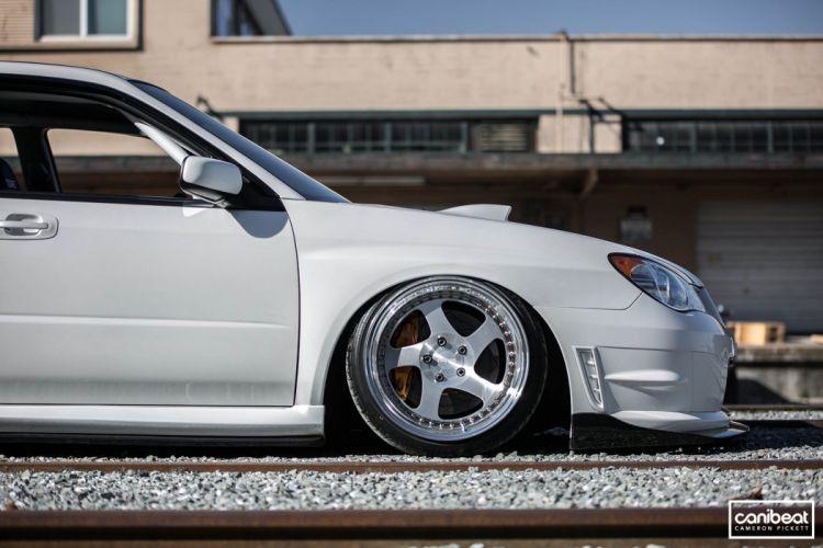 2007 Subaru STI tuning d wallpaper