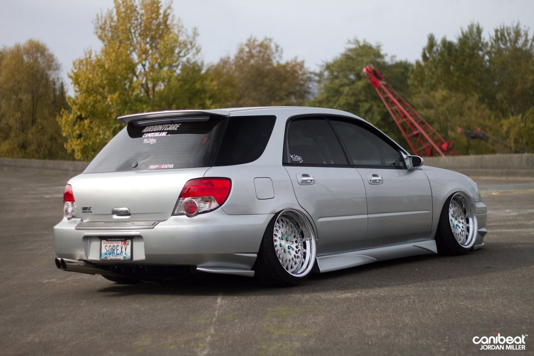 Subaru stationwagon tuning s wallpaper