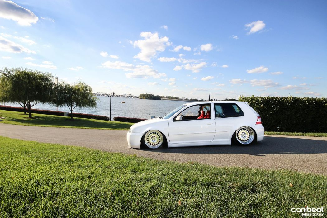 Volkswagen R32 Golf GTI tuning d wallpaper