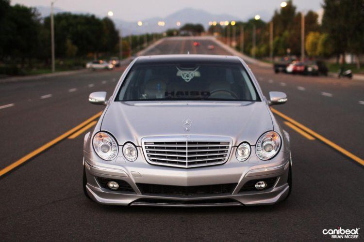 2008 Mercedes Benz E350 tuning f wallpaper