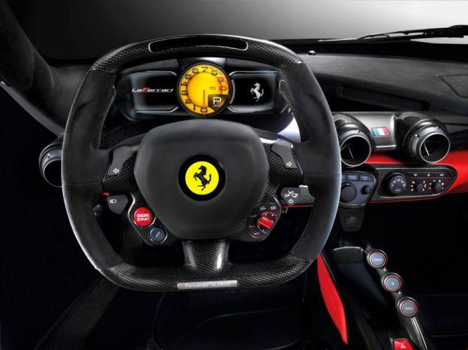 Ferrari Laferrari Salon wallpaper