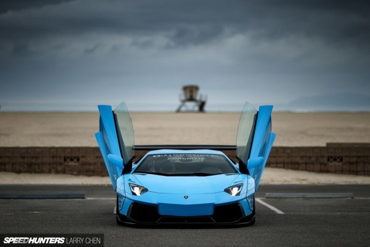 Wallpaper Lamborghini Blue wallpaper
