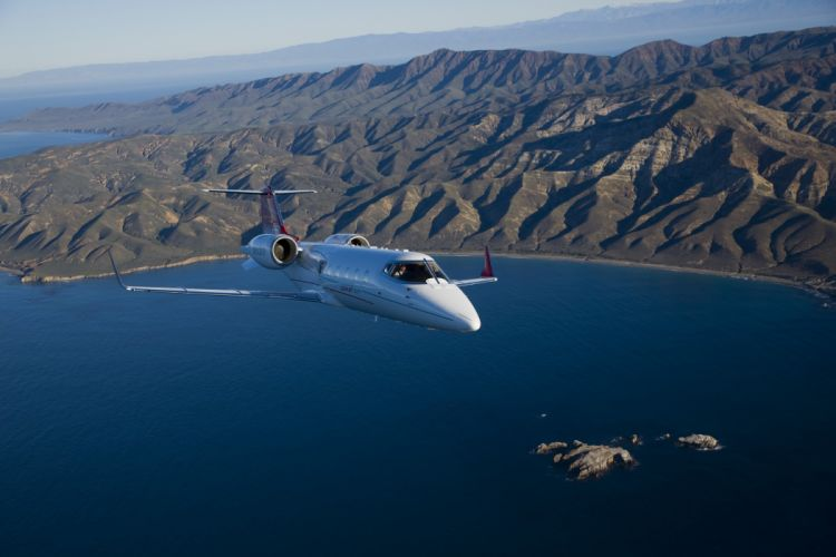 LEARJET aircraft airplane jet luxury f wallpaper