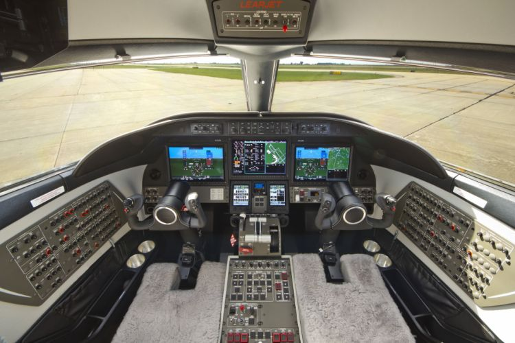 LEARJET aircraft airplane jet luxury f wallpaper