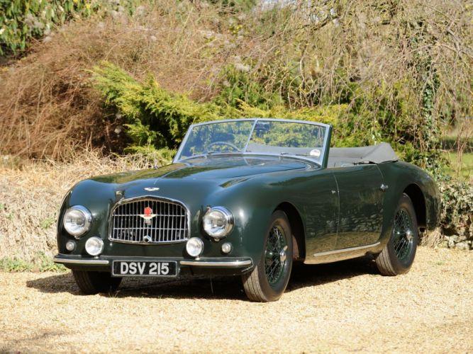 Aston martin 1952 wallpaper