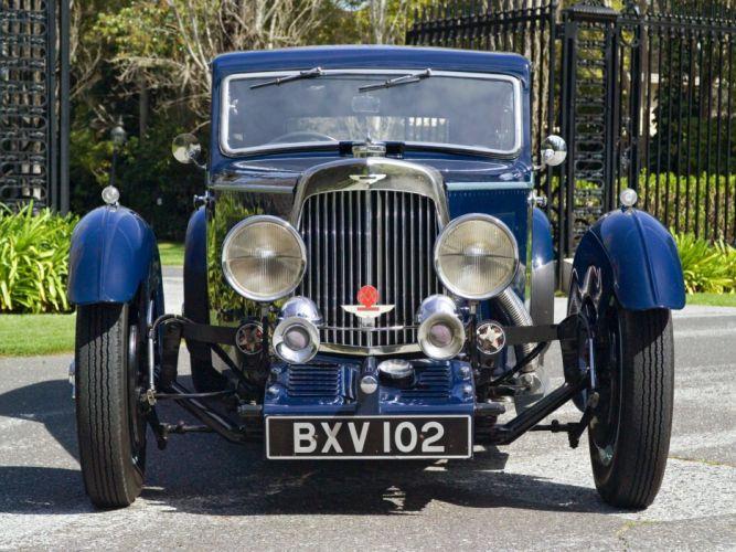 Aston martin Mkii 1934 wallpaper