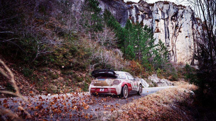 Citroen Ds3 Rally wallpaper