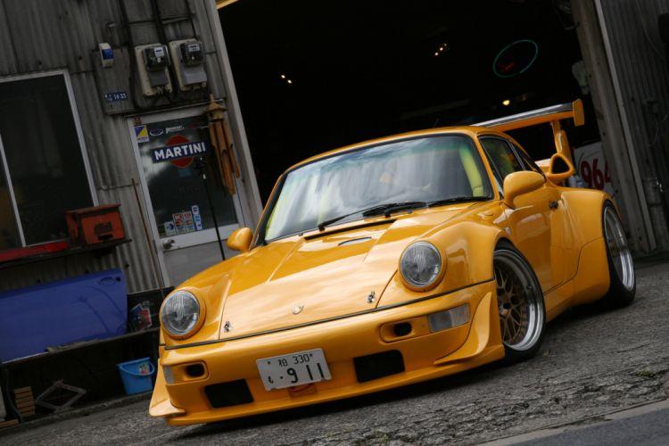 Porsche Yellow wallpaper