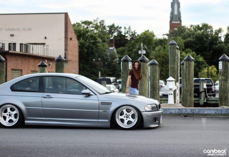 BMW E46 M-3 tuning wallpaper