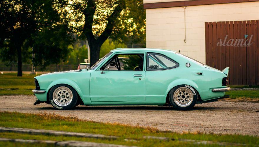 1972 Toyota Corolla tuning custom race racing drift wallpaper