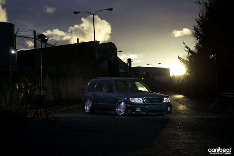 Subaru Forester tuning custom suv wallpaper