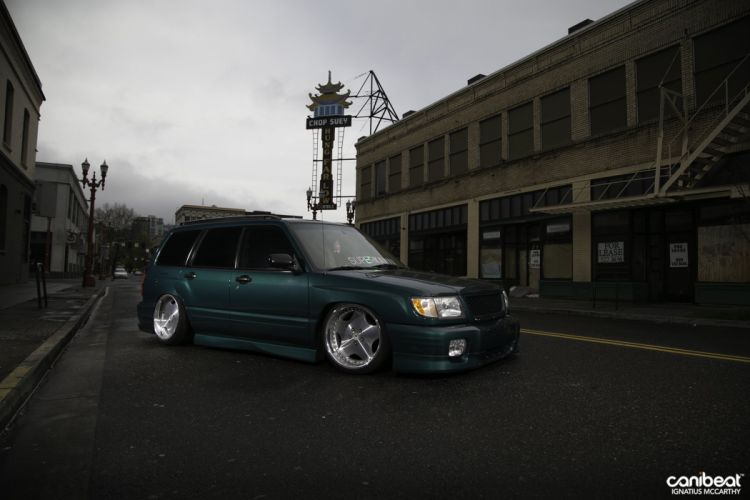 Subaru Forester tuning custom suv wallpaper