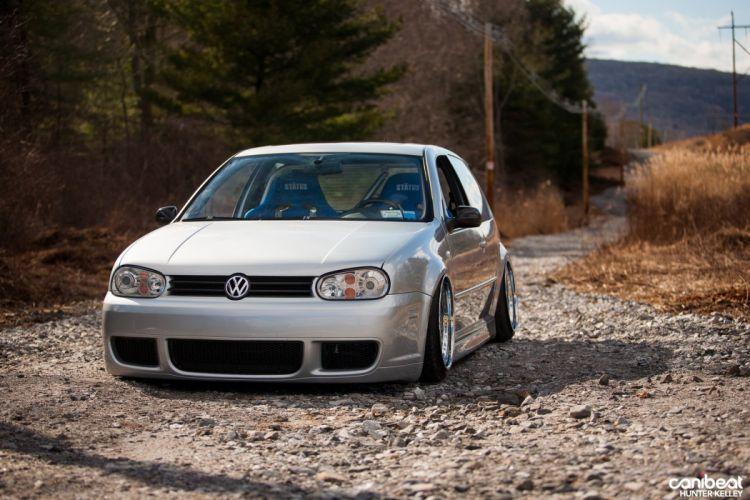 Volkswagen R32 tuning custom wallpaper