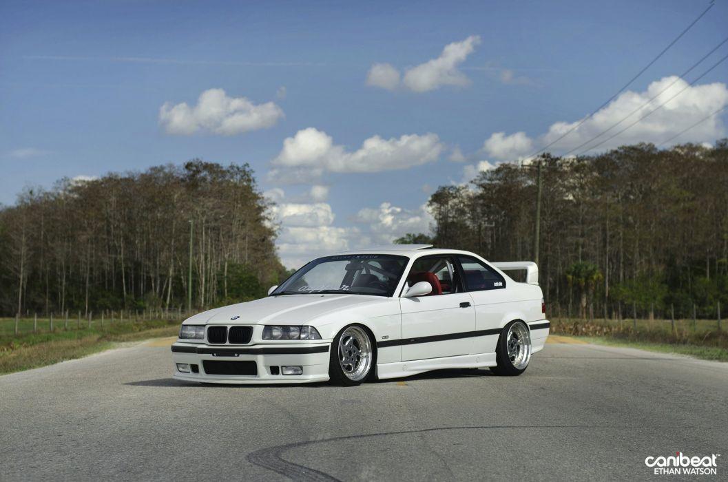 BMW E36 M-3 tuning custom wallpaper