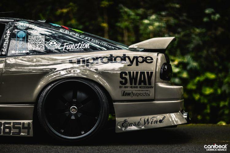 Nissan Silvia S13 tuning custom wallpaper