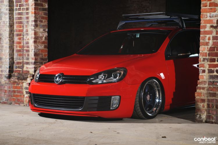 VOLKSWAGON GTI tuning custom wallpaper