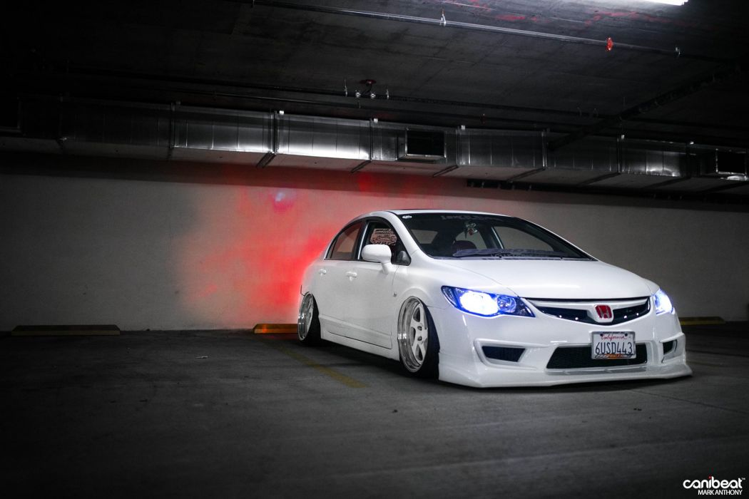 2008 Honda Civic Si Tuning Custom Wallpaper