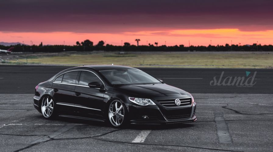 2012 VW CC volkswagon tuning custom wallpaper