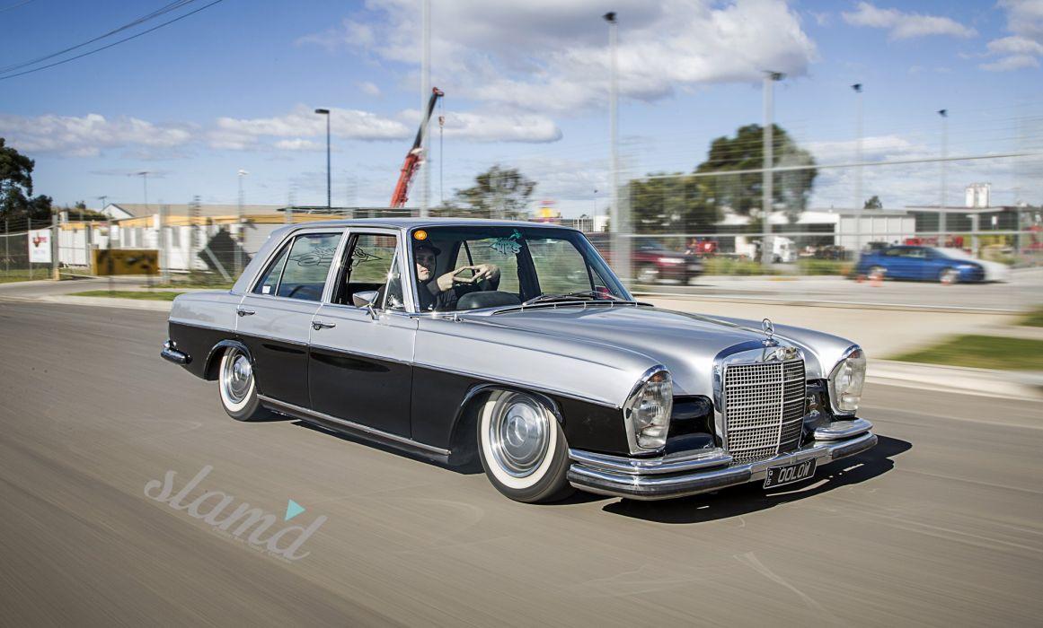 Mercedes Benz tuning custom wallpaper