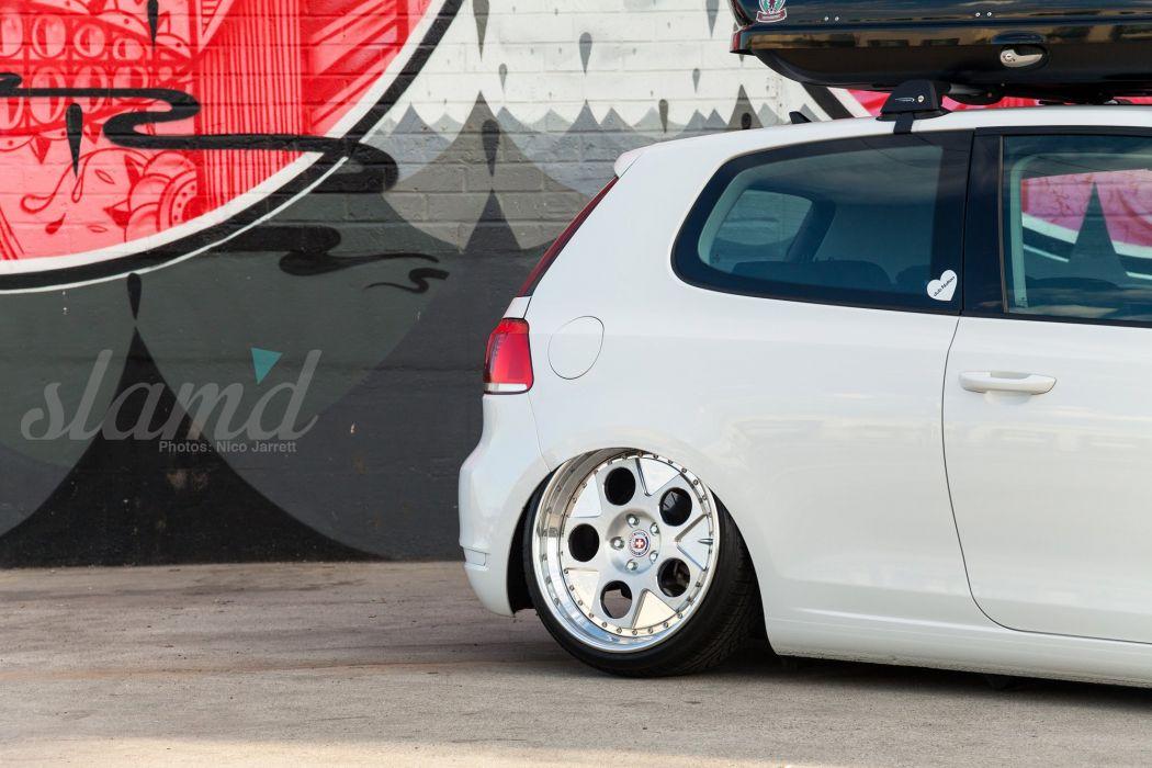 2010 Volkwagen Golf TDI tuning custom g wallpaper
