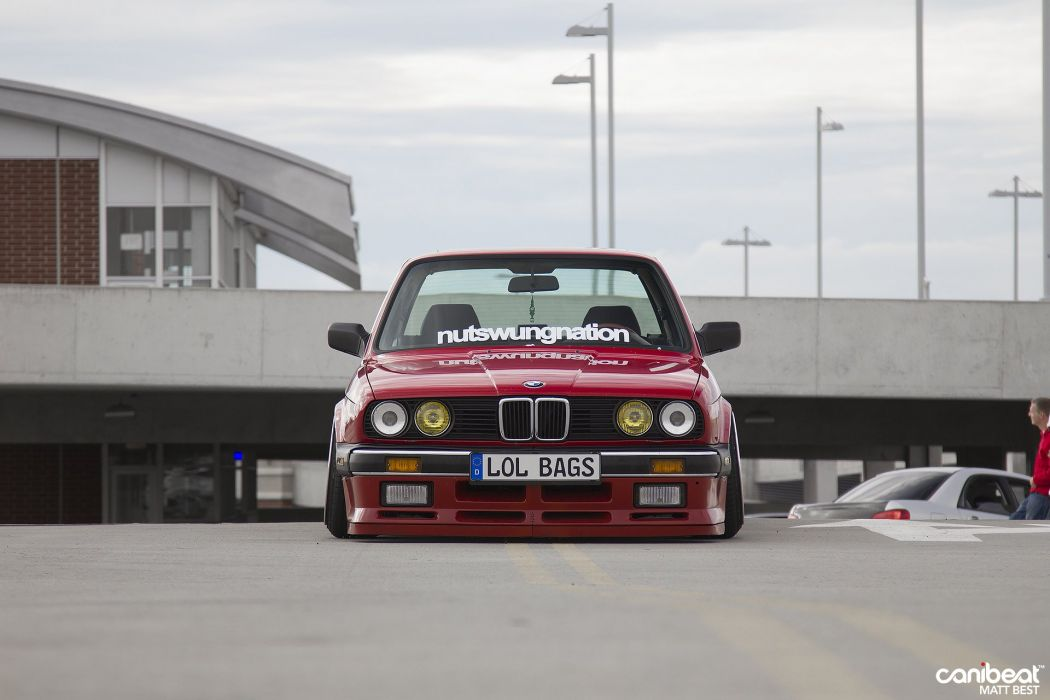 1987 BMW E30 tuning custom wallpaper