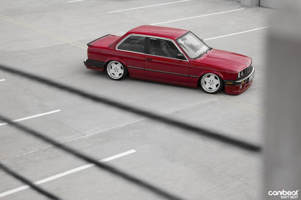 1987 BMW E30 tuning custom wallpaper