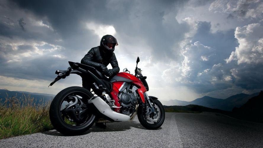 Motorcycle Racer Road wallpaper