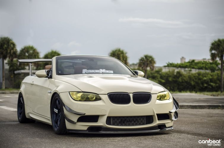 2008 BMW 335I tuning custom wallpaper