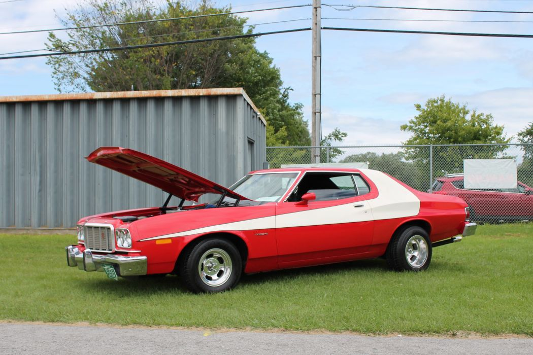 ford torino muscle classic wallpaper