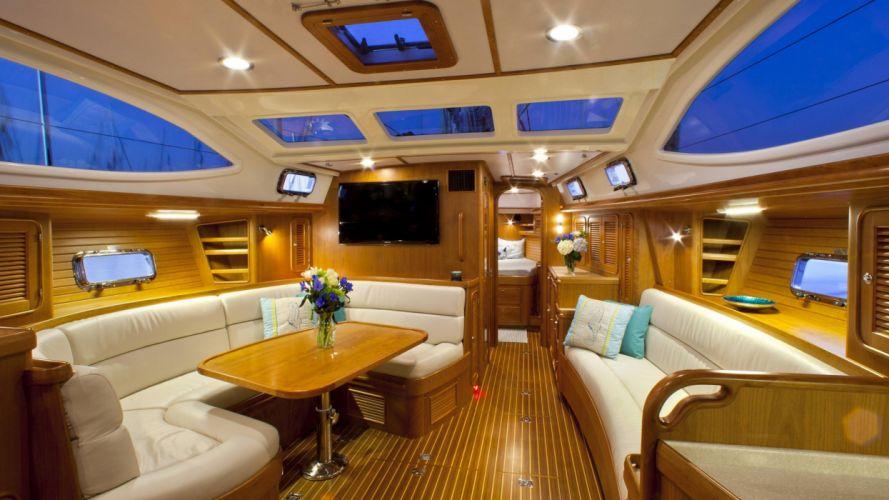 interior barco lujo confort wallpaper