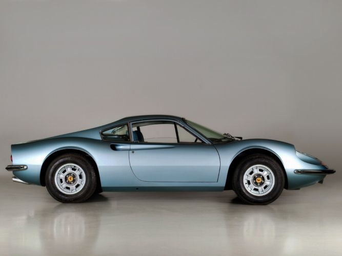 Dino 246 GT Series E coupe cars classic 1971 wallpaper