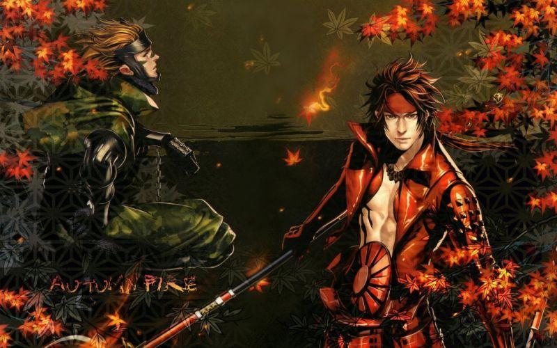 Sengoku Basara Series Game anime characters guys wallpaper