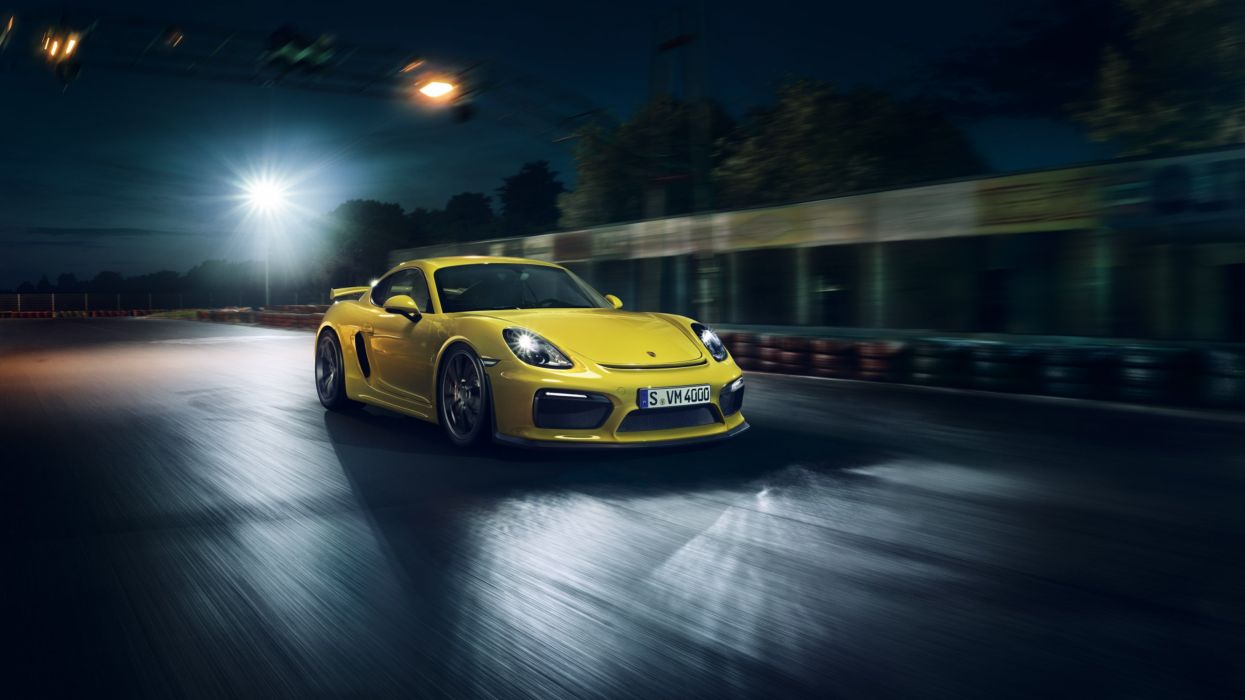 Porsche Cayman GT4 981C 2015 cars coupe germany wallpaper