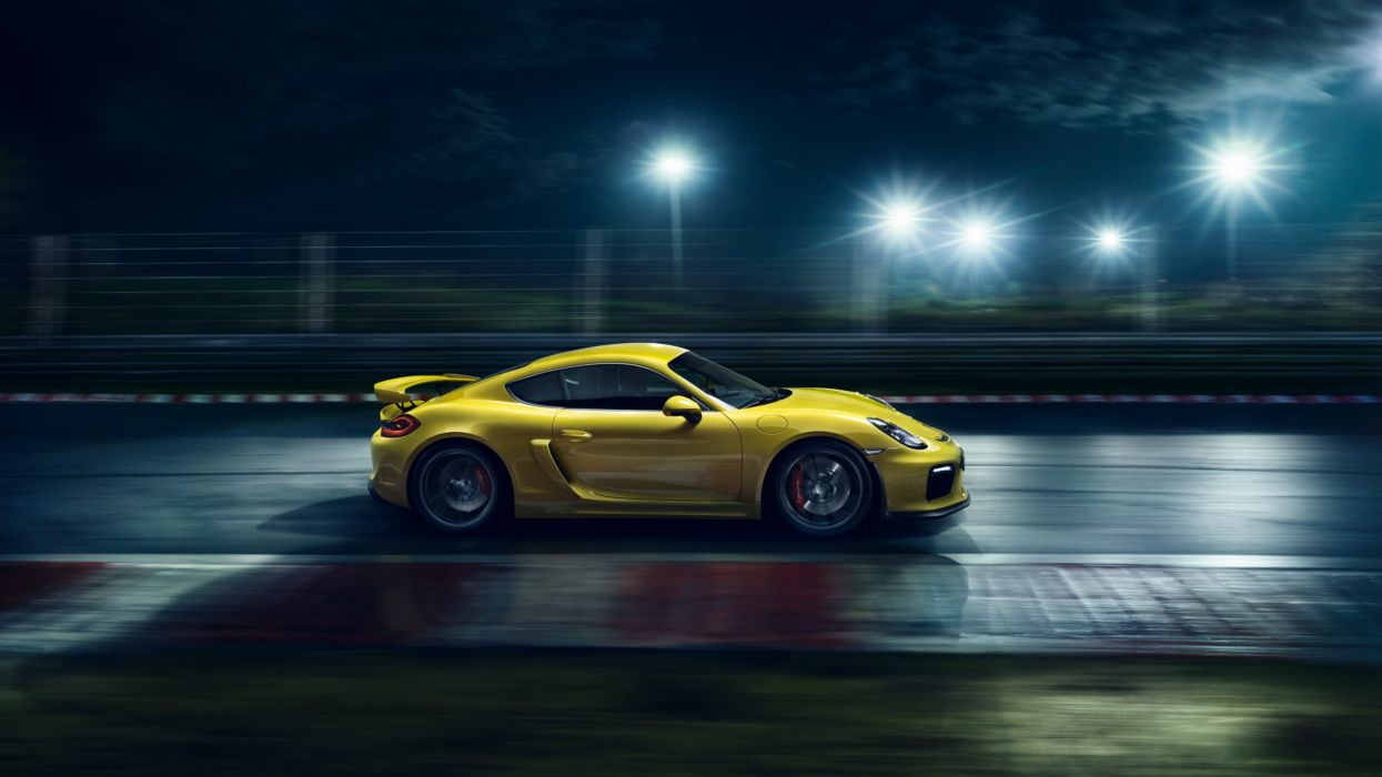 Porsche Cayman GT4 981C 2015 cars coupe germany wallpaper
