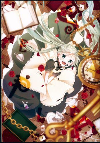 Vocaloid Series Game Miku Hatsune Character wallpaper