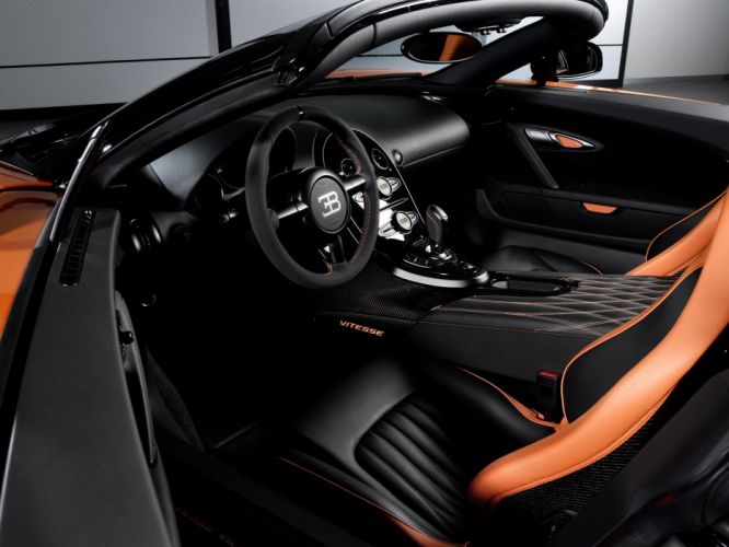 "Bugatti Veyron Grand Sport Roadster Vitesse"" WRC Edition 2013 cars supercars black wallpaper"