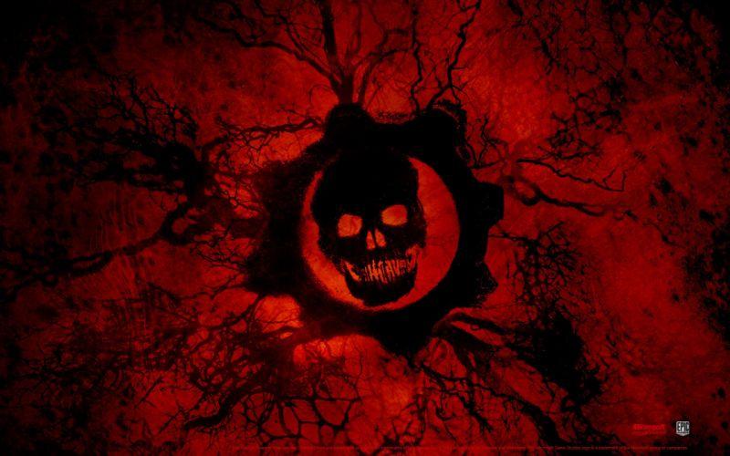 Games skull gears of war 3 wallpaper
