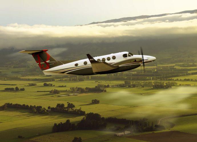 BEECHCRAFT aircraft airplane wallpaper