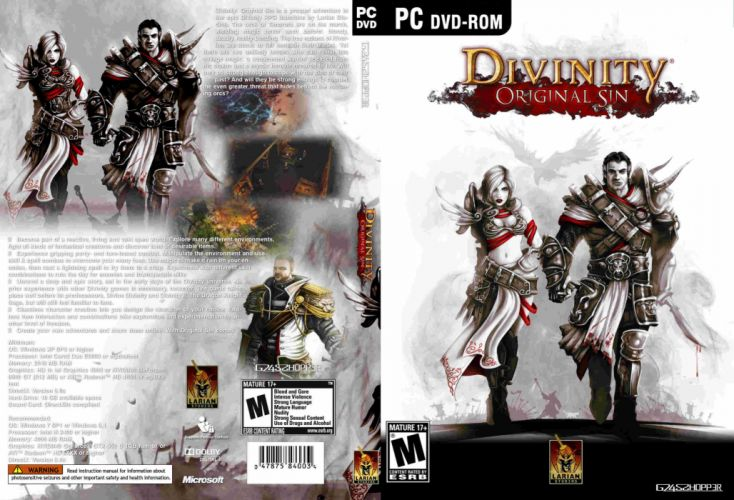 DIVINITY ORIGINAL SIN adventure strategy tactical fantasy sci-fi warrior rpg online 1dosin action fighting wallpaper