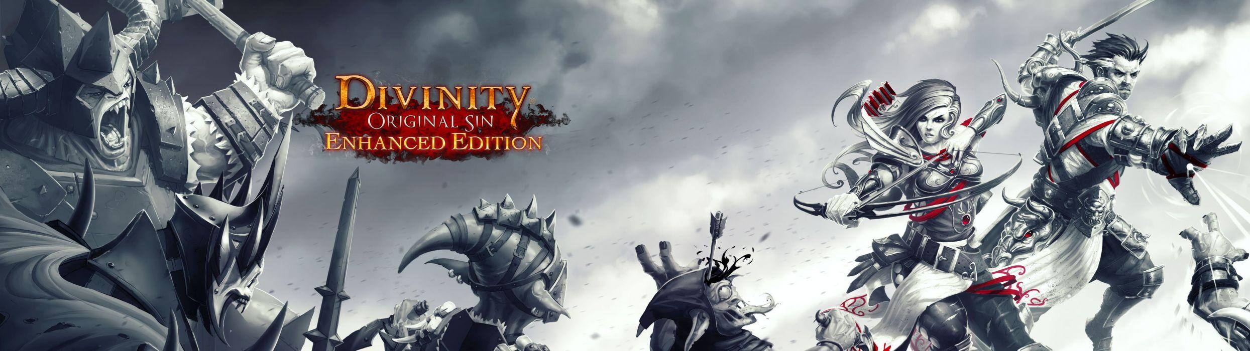 Divinity Original Sin Adventure Strategy Tactical Fantasy Sci Fi Warrior Rpg Online 1dosin Action Fighting Wallpaper 3840x1080 717701 Wallpaperup