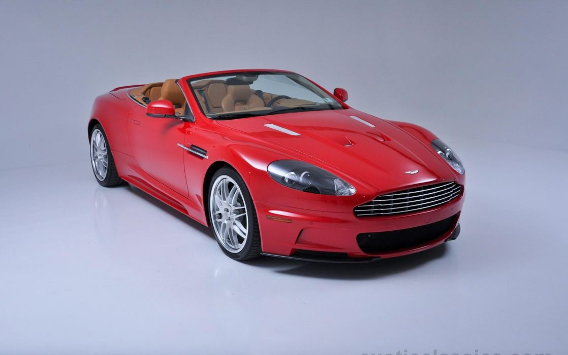 2010 Aston Martin Db9 Red Cars Volante Wallpaper 1920x1202 717790 Wallpaperup