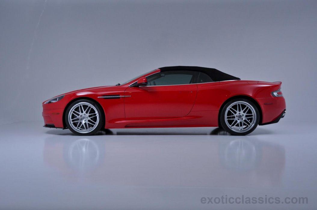 2010 Aston Martin Db9 Red Cars Volante Wallpaper 1920x1275 717798 Wallpaperup