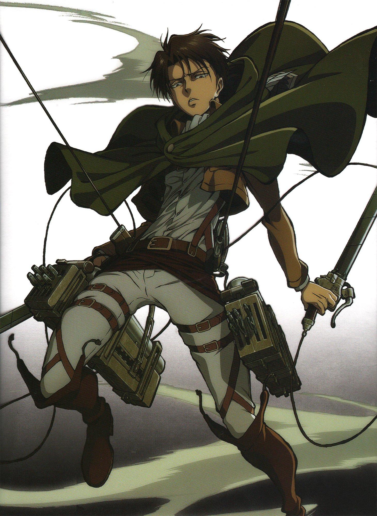 Shingeki no Kyojin Series Levi Ackerman Character anime ...